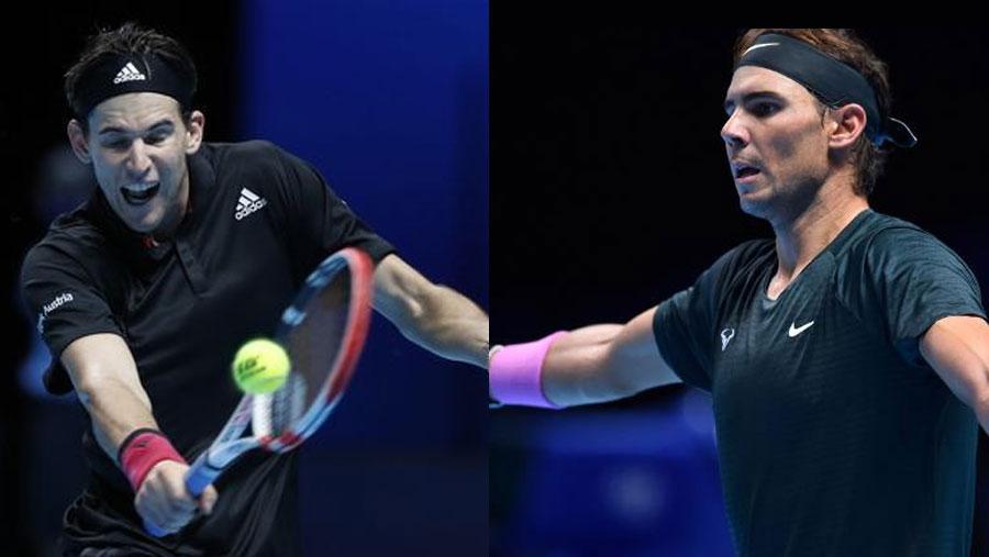 Thiem beats Nadal at ATP Finals