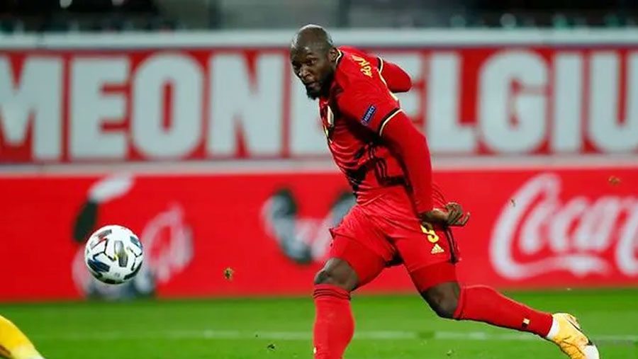 Lukaku double sends Belgium into final four