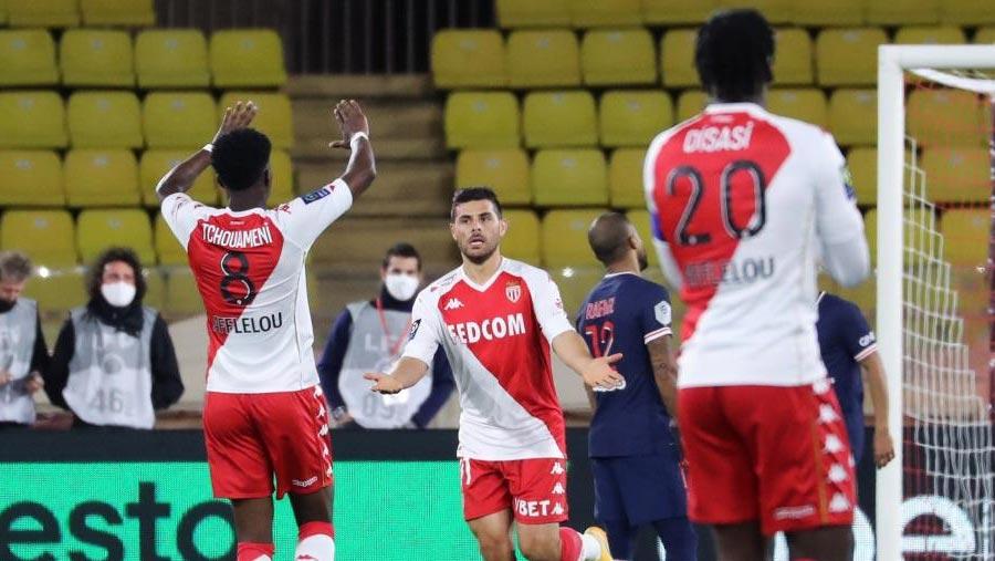 Monaco beat PSG in stunning comeback