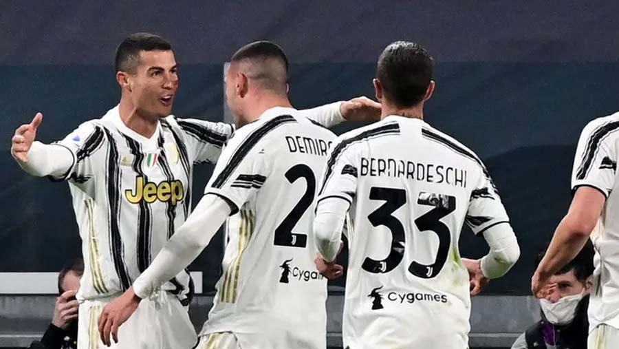 CR7 scores twice in Juventus win