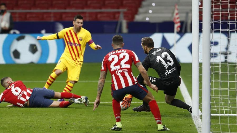 Atletico beat Barca in LaLiga for 1st time in a decade