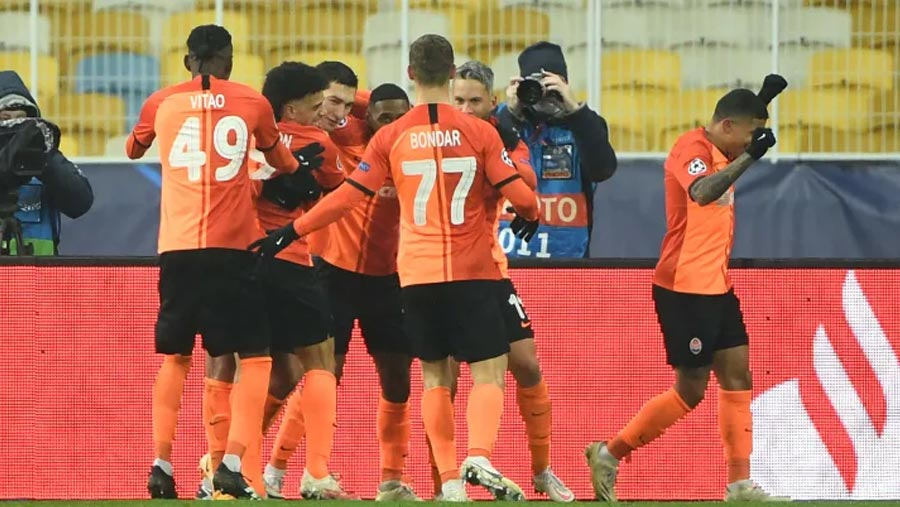 Shakhtar Donetsk beat Real Madrid again