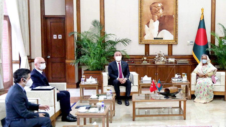 PM seeks Turkey's engagement in Rohingya repatriation