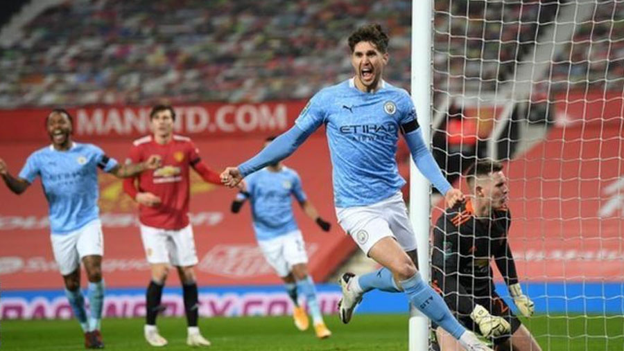 Man City beat Man Utd to reach EFL Cup final