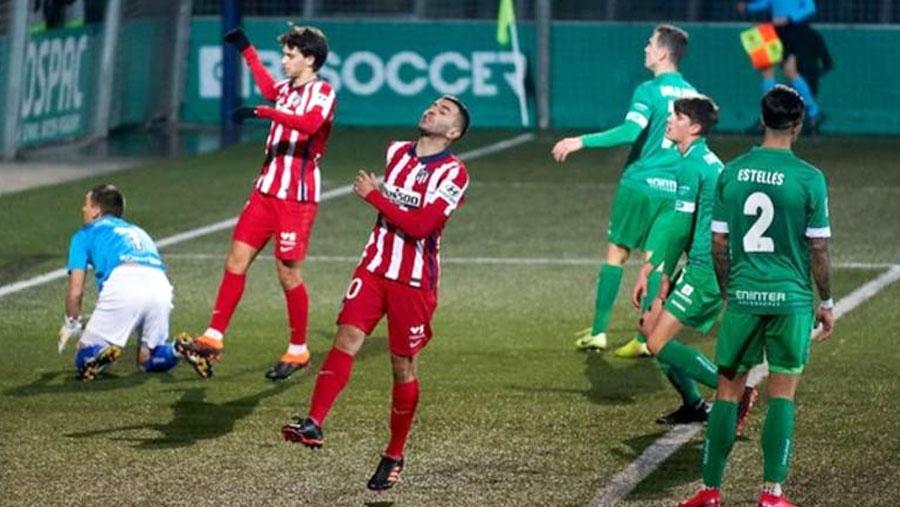 Atletico stunned by third-tier UE Cornella