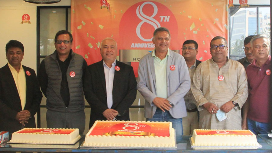 NOVOAIR celebrates its 8th anniversary