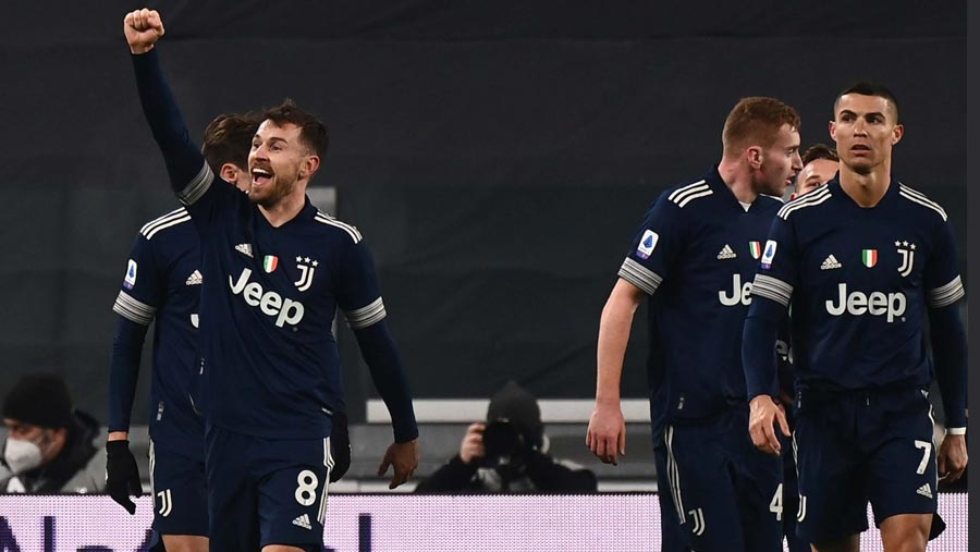Juventus beat Sassuolo to move fourth in Serie A