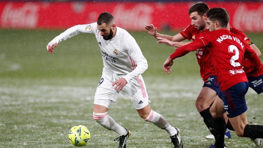 Osasuna hold Los Blancos scoreless