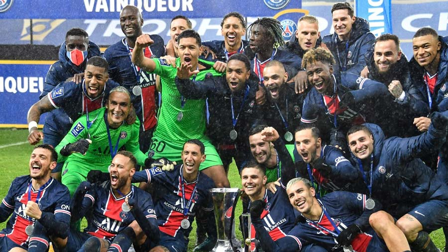 PSG clinch Champions Trophy