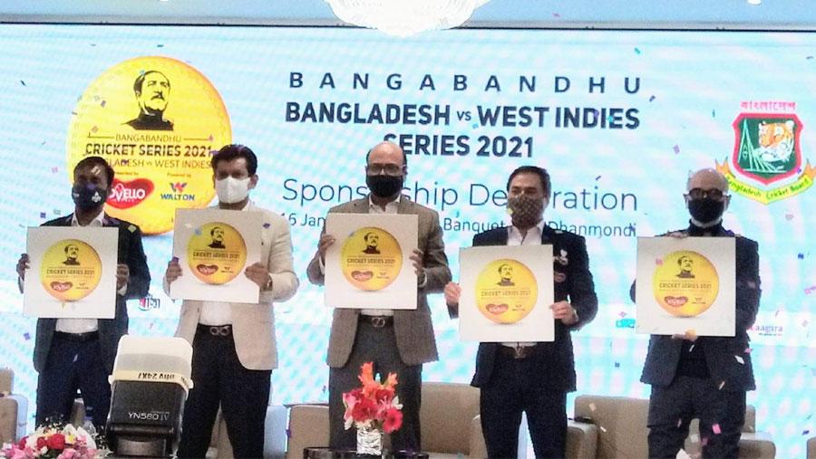 Bangladesh-WI series named after Bangabandhu