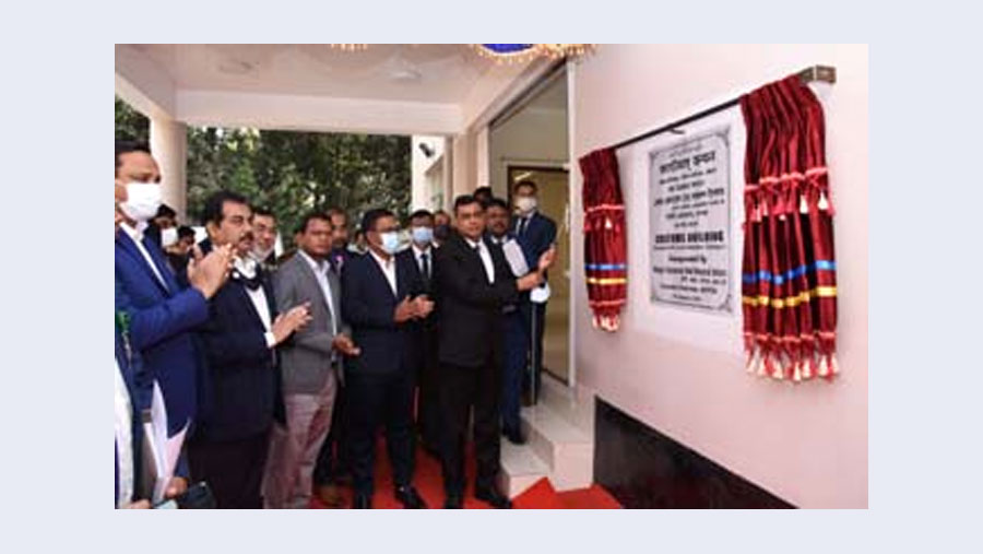 BEPZA executive chairman inaugurates customs office building at CEPZ