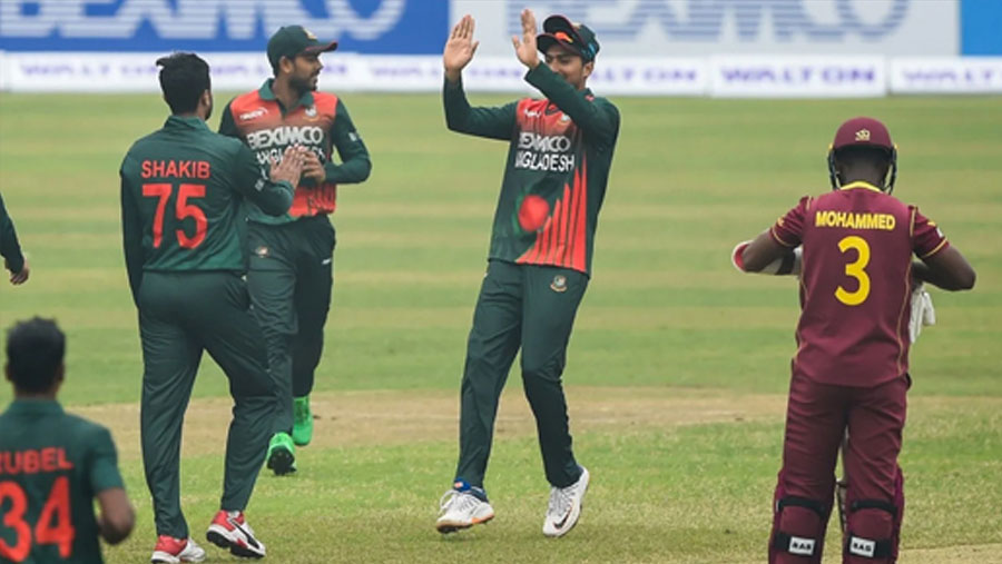 Tigers beat West Indies by six wickets in first ODI