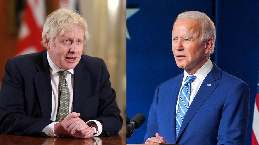 Johnson, Biden discuss 'deepening alliance'
