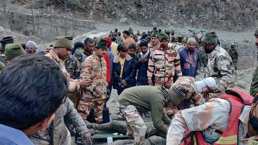 Fourteen dead after India glacier collapse triggers flood