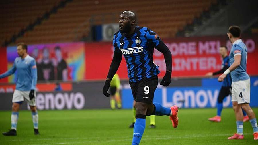 Lukaku scores brace to reach 300 goals as Inter go top