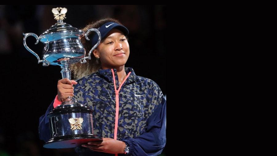 Osaka beats Brady to clinch Australian Open title