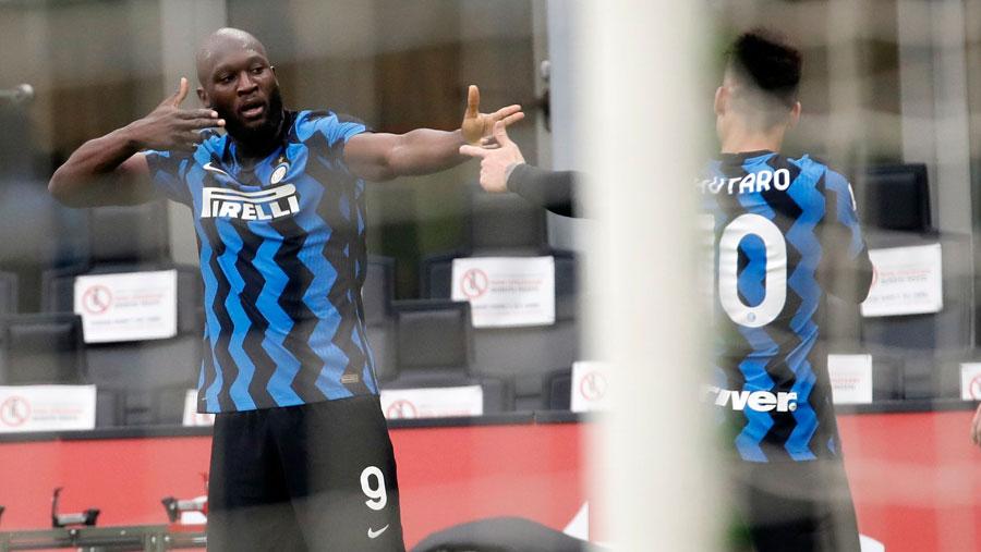 Lukaku, Lautaro put Inter in command of Serie A race