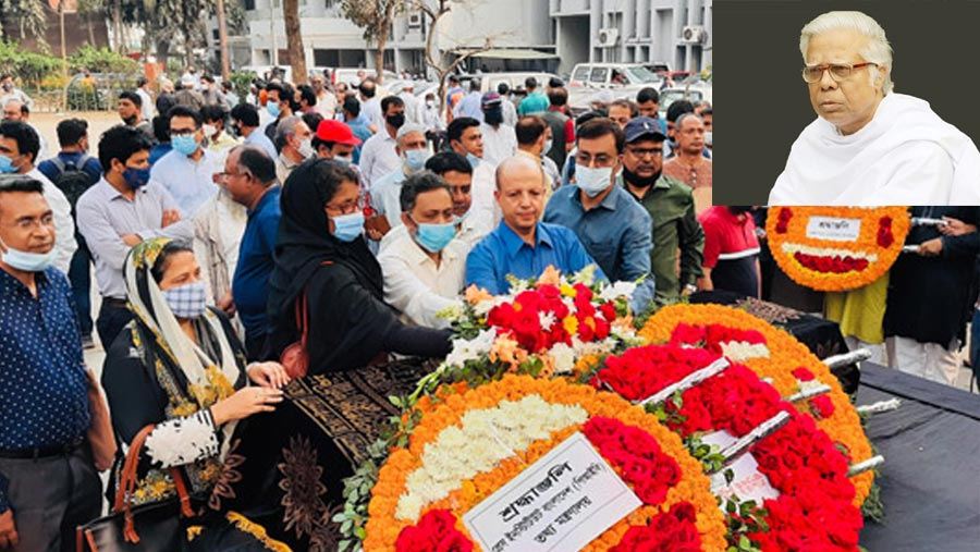 Journalist Abul Maksud laid to eternal rest