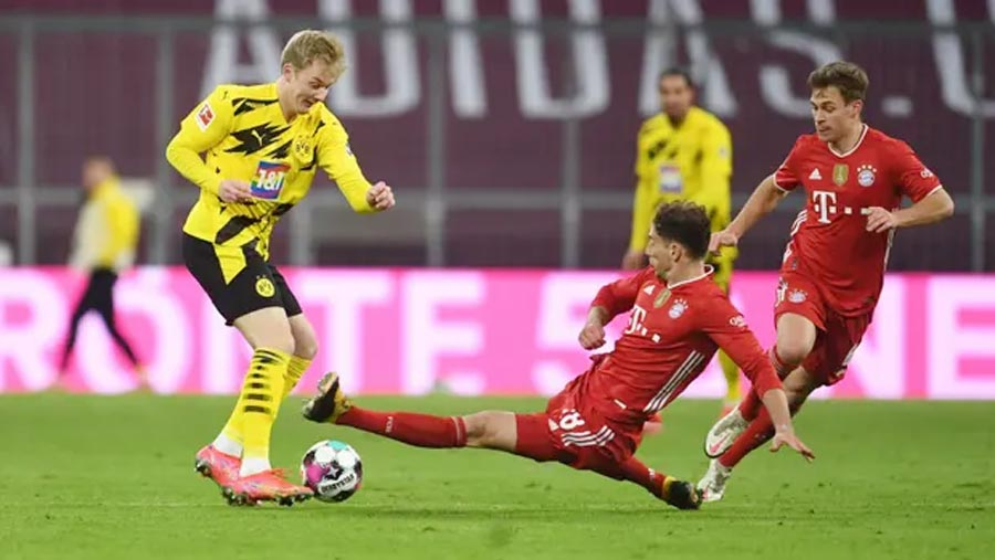 Bayern stage remarkable come back against Dortmund