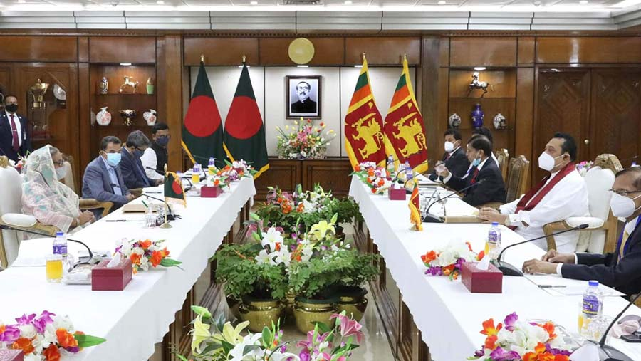 Dhaka, Colombo agree to boost bilateral cooperation