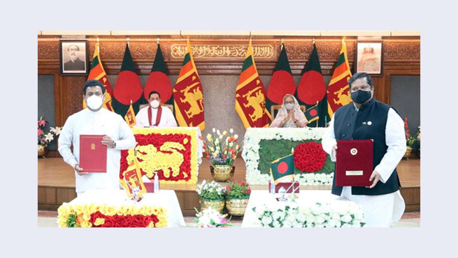 Dhaka, Colombo sign six MoUs