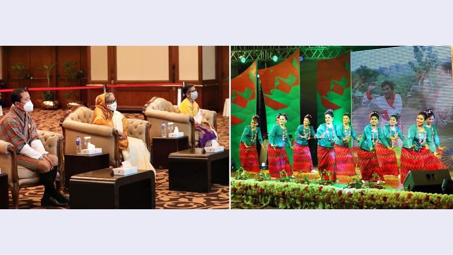 PM Sheikh Hasina hosts dinner for Bhutanese Premier