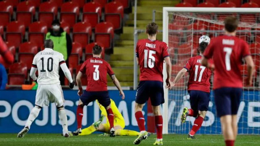 Belgium draw with Czech Republic 1-1