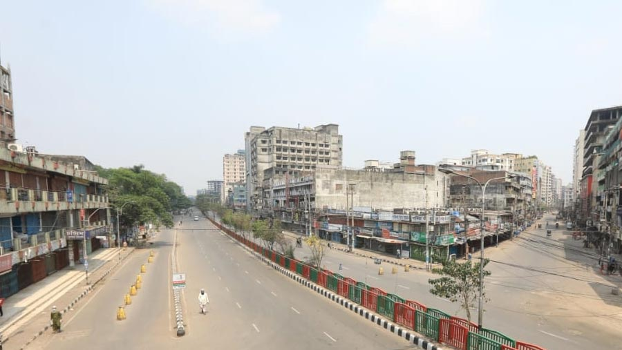 Bangladesh goes into lockdown for a week from Monday