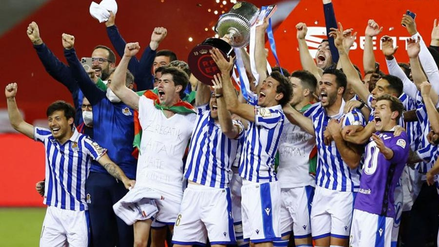Sociedad beat Bilbao to win Copa del Rey