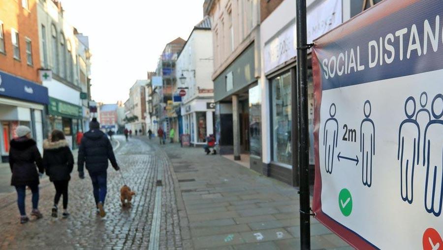 UK to ease lockdown next week