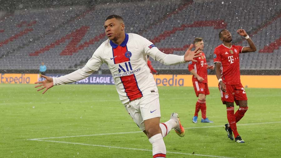 Mbappe hits double as PSG win at Bayern