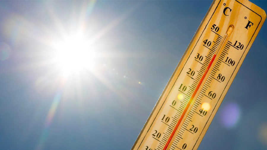 Mild to moderate heat wave may continue