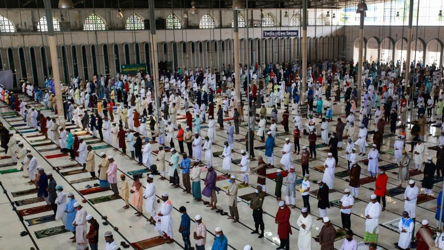 Govt urges to hold Eid Jamaat at mosques