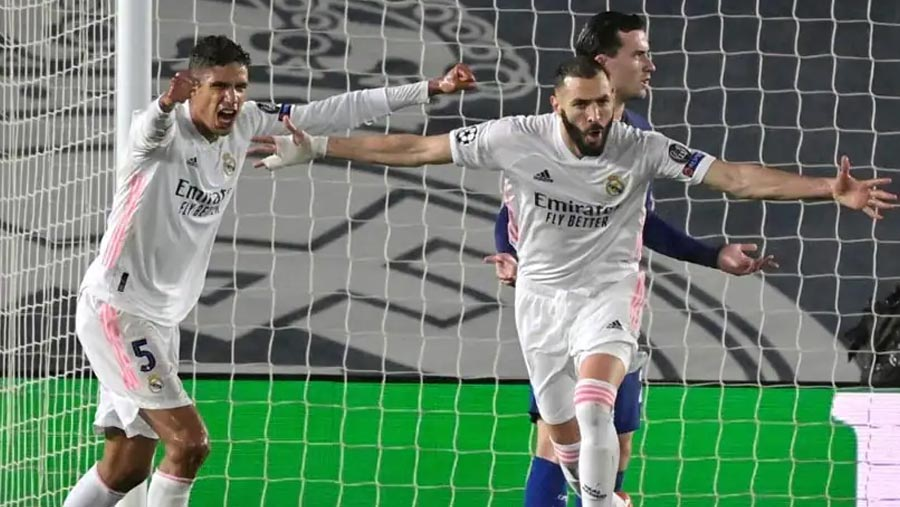 Benzema stunner earns Madrid draw against Chelsea