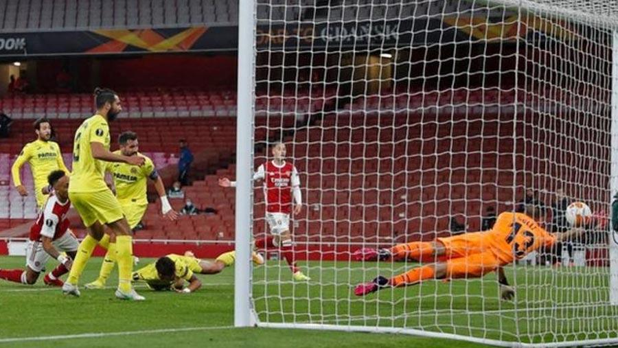 Arsenal's Europa League dream fizzles in scoreless draw