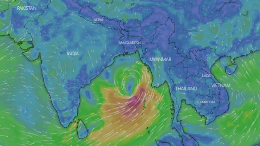 Chattogram prepares for cyclone 'Yash'