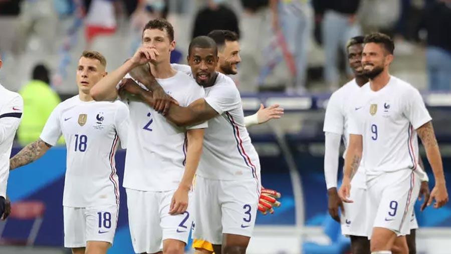 France beat Bulgaria, Spain thrash Lithuania