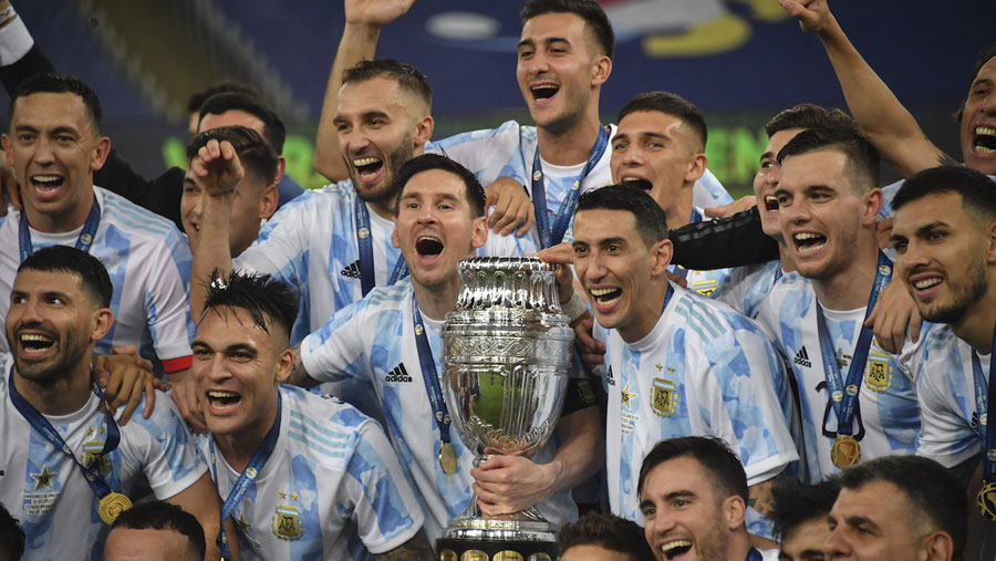 Messi ends trophy drought as Argentina beat Brazil to win Copa America