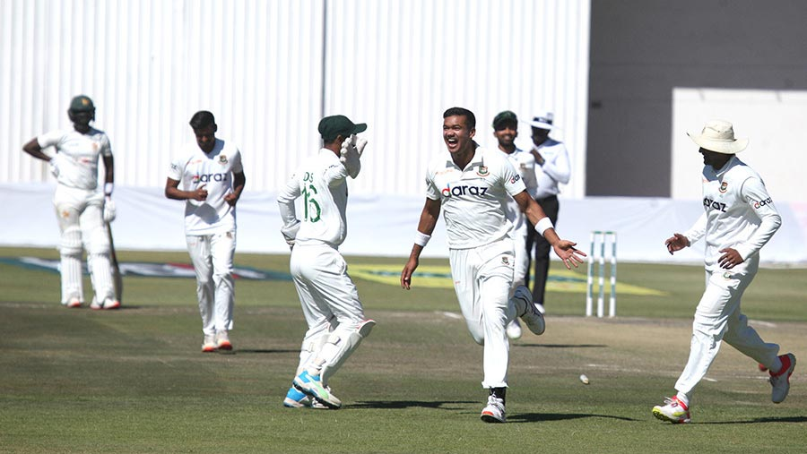 Tigers crush Zimbabwe by 220 runs in one-off Test