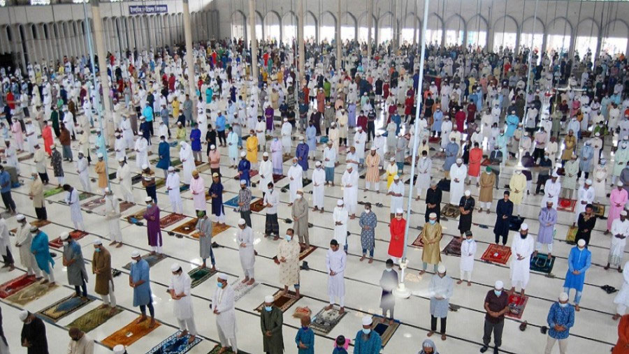 Ministry of Religious Affairs issues notification on Eid Jamaat