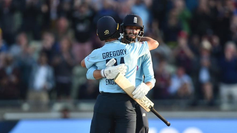 Vince ton leads England to ODI clean sweep