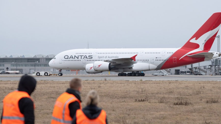Qantas to furlough 2,500 workers