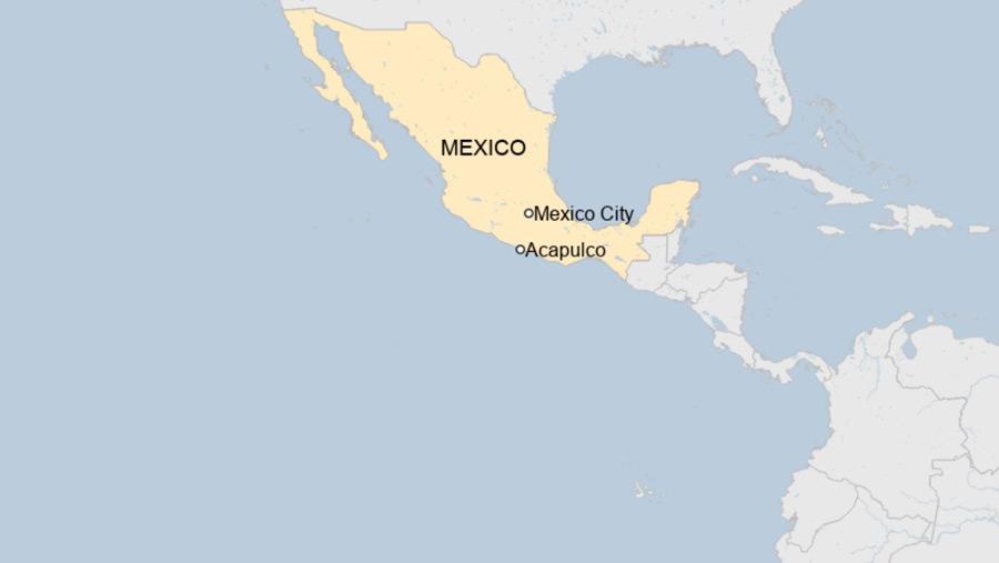 Powerful earthquake strikes Southwest Mexico