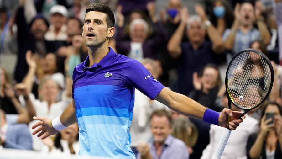 US Open: Djokovic sets up final with Medvedev