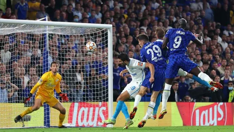 Lukaku gives Chelsea win over Zenit