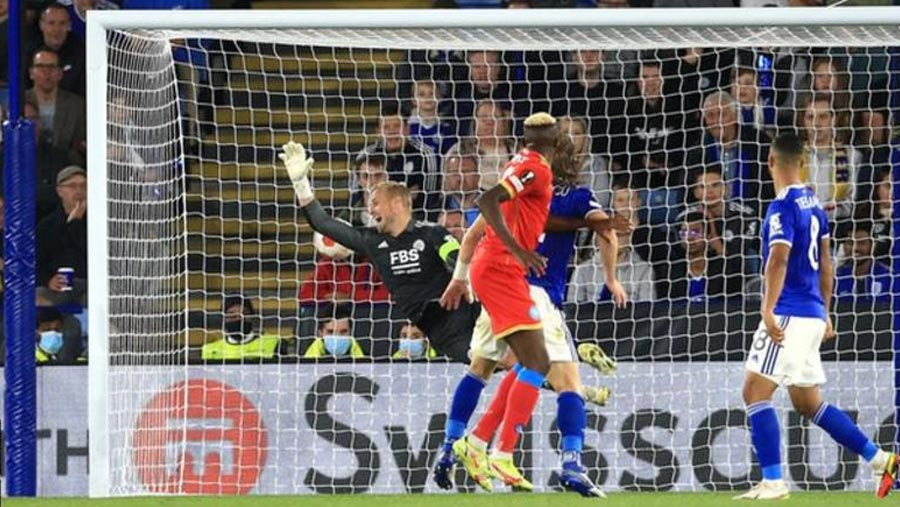 Leicester 2-2 Napoli