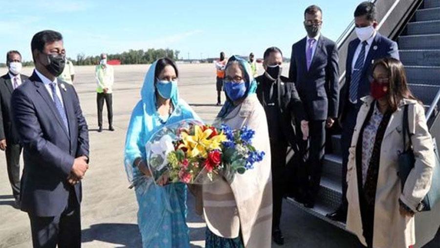 PM reaches Washington DC from New York