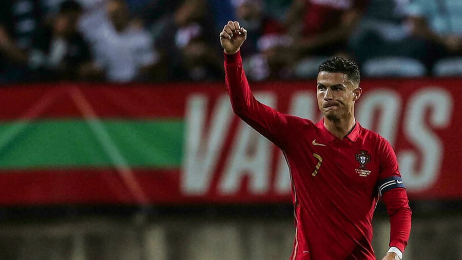 CR7 scores on European record 181st int'l appearance