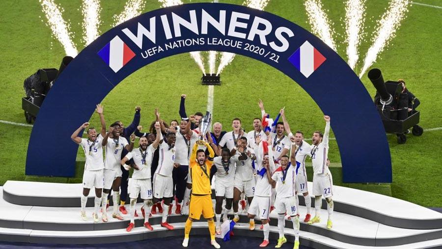 France win UEFA Nations League