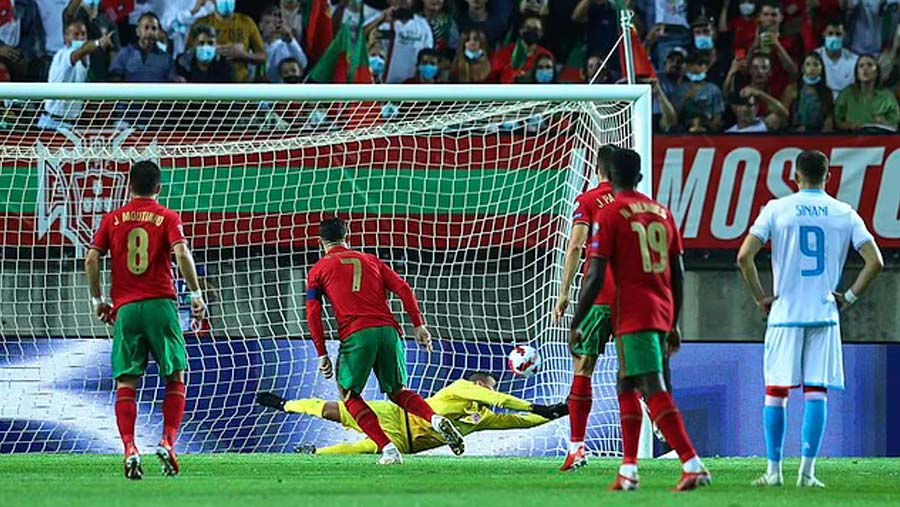 CR7 nets hat-trick as Portugal rout Luxembourg